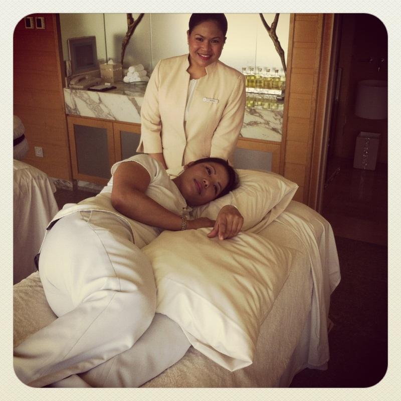 Prenatal massage 2